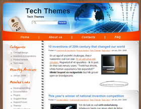 Tech-тема