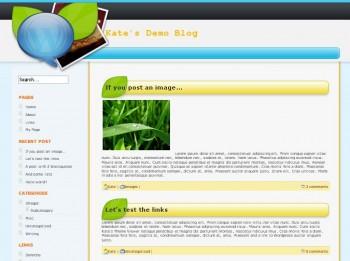 Тема Sweetblogging