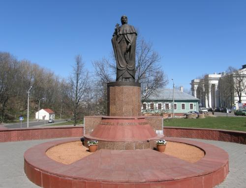 Памятник Евфросинии Полоцкой